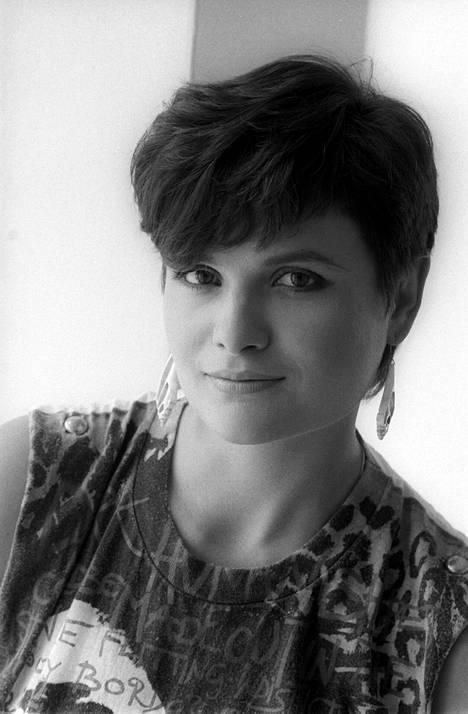 Laila Snellman kuvattuna vuonna 1983.