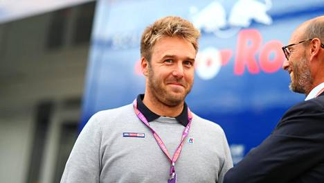 Davide Valsecchi ylistää Kimi Räikköstä.