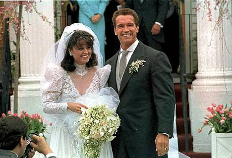 Pariskunta meni naimisiin huhtikuun 25. päivä vuonna 1986.