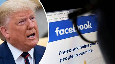 Donald Trumpin Facebookiin ostamien mainosten väitteet eivät pidä paikkansa, kertovat faktantarkastajat.