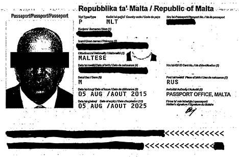 Airiston Helmen rahanpesututkinnan keskiössä on 54-vuotias venäläinen liikemies. IS:n venäläislähteestä saaman tiedon mukaan liikemies on lennellyt maailmalla ainakin neljän muun valtion kuin Venäjän passeilla. Nämä valtiot ovat Malta, Saint Kitts ja Nevis, Dominica sekä Antigua ja Barbuda.