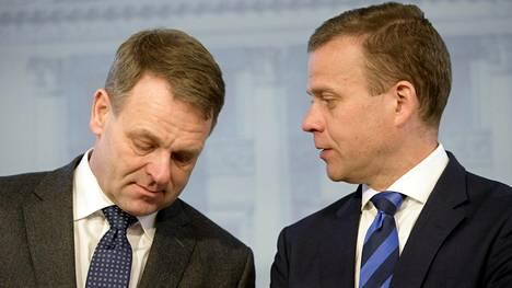 Jan Vapaavuori ja Petteri Orpo.