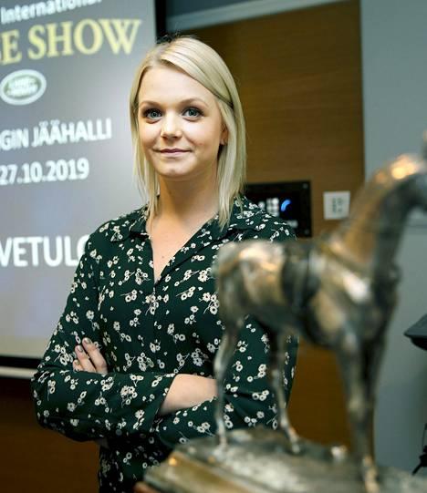Emilia Bottas osallistui Helsinki International Horse Show'hun tänä vuonna.