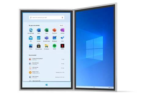 Windows 10X on suunniteltu kaksinäyttöisiä laitteita silmällä pitäen. Nyt sitä nähtäneen muuallakin.