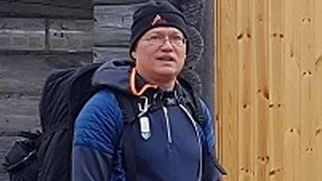 Pekka Isto on kuvattu syksyllä 2019. Kadonneen vaatetus ja varustus voivat olla erilaisia kuin kuvassa.