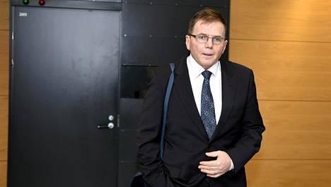 Helsingin poliisikomentaja Lasse Aapio huumepoliisin ex-päällikkö Jari Aarnion huumausaine- ja virkarikoksia käsittelevässä oikeudenkäynnissä 2. helmikuuta 2016.
