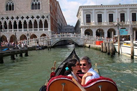 Matka Venetsiaan oli kuin romanttisista elokuvista.