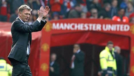 David Moyesin ura Manchester Unitedissa päättyy pian.