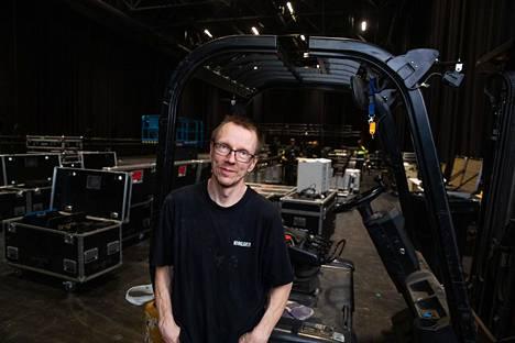 Markku Manninen on perustanut yhden Suomen suurimmista studioista.