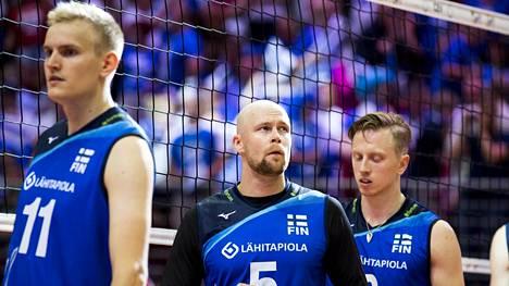 Suomen miesten lentopallomaajoukkueelle karu tappio