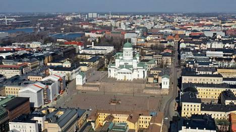 Epäilty teko tapahtui Helsingin keskustassa.