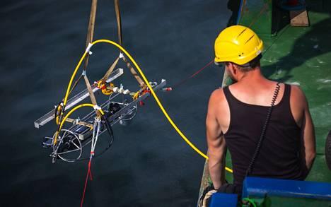 Vedenalaisia tutkimuksia tehtiin 8.–16. heinäkuuta.
