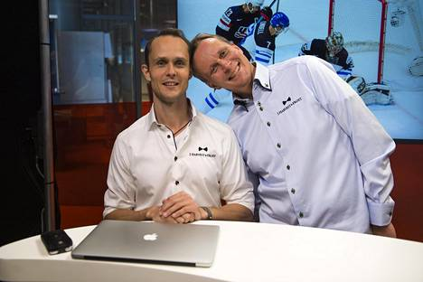 Tuomas Nyholm ja Vesa Rantanen vuonna 2015.