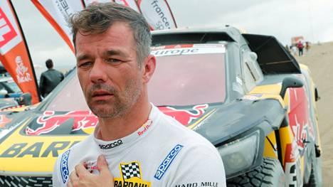 Sebastien Loeb kuvattuna vuoden 2019 Dakar-rallissa Perussa.