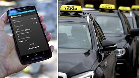 Pienyrittäjät keksivät, miten taksilla voi matkustaa edullisesti ja vaivatta, kun matkustajia on kyydissä useita.