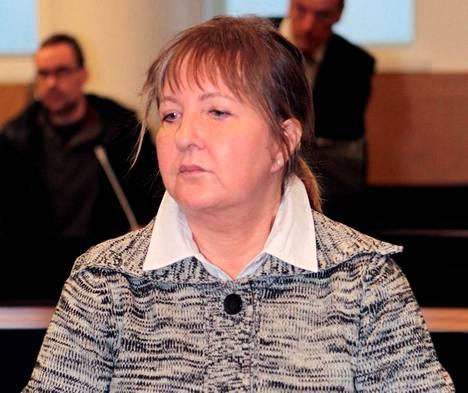 Viiden vanhuksen murhasta tuomitttu myrkkyhoitaja Aino Nykopp.