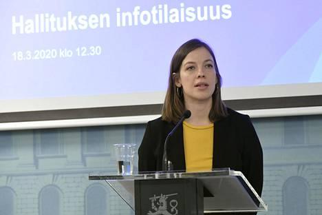 Opetusministeri Li Andersson.