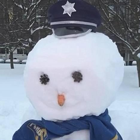 Kuva 6. Minkä puolueen lumiukko?