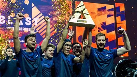 Brasilialainen SK Gaming juhli Tanskassa syksyn toista turnausvoittoa.