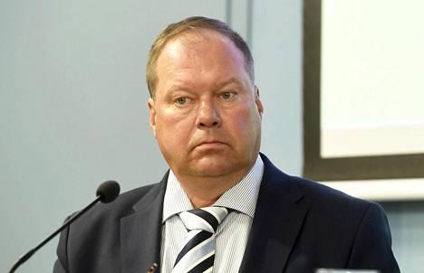 Lapin sairaanhoitopiirin infektiotautien ylilääkäri Markku Broas.