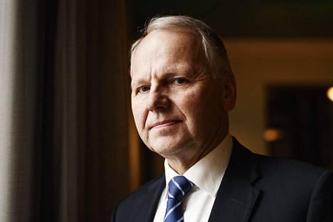 Keskustan maa- ja metsätalousministeri Jari Leppä eduskunnassa Helsingissä torstaina 19. syyskuuta 2019.