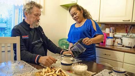 Marissa on Palmin perheen pääkokki, joka määrää tahdin keittiössä.