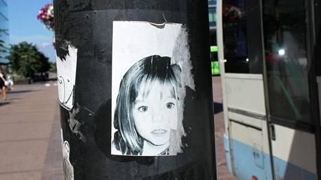 3-vuotias Madeleine McCann katosi toukokuussa 2007.