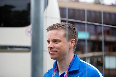 Videoanalyytikko Henri Lehto kommentoi tapahtumia.