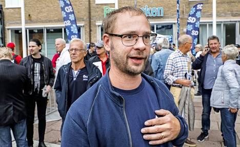 45-vuotias Dennis Westerberg äänesti Ruotsidemokraatteja jo edellisvaaleissa.