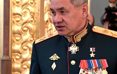 Puolustusministeri Sergei Shoigu