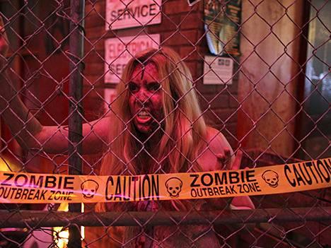 Mene takaisin, zombi. Mitään juhlapäivää ei ollutkaan.