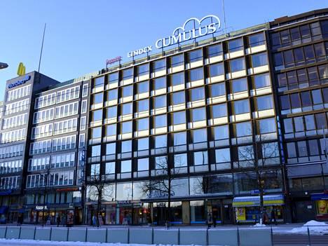 Cumulus-hotelli Helsingin Hakaniemessä.