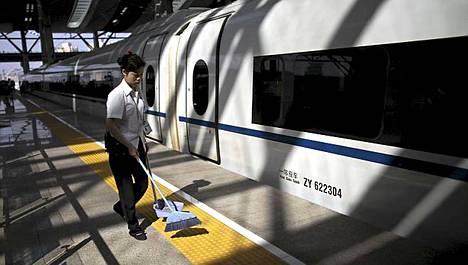 CRH-junan julkikuva on toistaiseksi puhtoinen.