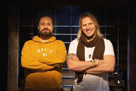 Harri Moisio ja Sami Kuronen olivat puulla päähän lyötyjä, kun pari kertoi eronneensa.