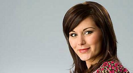 Marianne Harjula synnytti esikoistyttärensä torstaina.