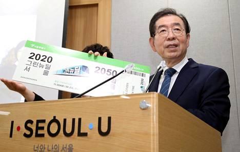 Mediatietojen mukaan Won-soon oli kohtaamassa syytteitä seksuaalisesta hyväksikäytöstä.
