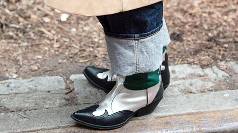Kenkätyyli New Yorkin muotiviikoilta.