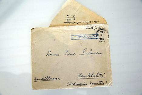Kirjeistä selviää, että Maria Guzeninan isoäiti Irene Salonen oli vanhempiensa talutusnuorassa.