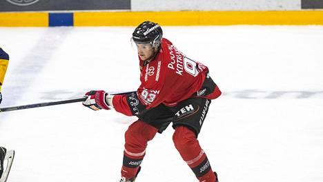 Jesperi Kotkaniemi ehti pelata syyskaudella Ässissä kymmenen ottelua.
