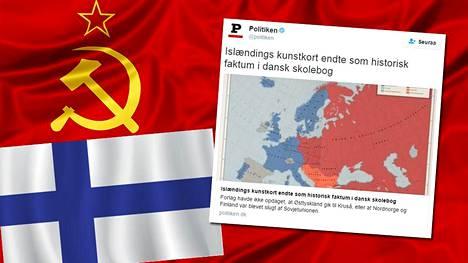 Tanskalaislehti Politikenin mukaan oppikirjan vuoden 1960 Eurooppaa kuvaavassa kartassa on useita räikeitä virheitä: esimerkiksi Suomi kuuluu Neuvostoliittoon.