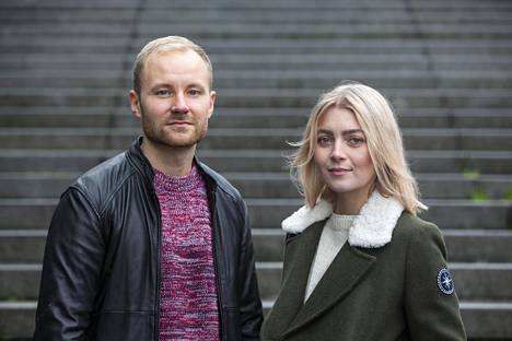 Jenni Rotonen ja Jasu Koponen