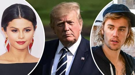 Selena Gomez ja Justin Bieber hiillostavat presidentti Trumpia Meksikon ja Yhdysvaltain rajalla pidätettynä olevien laittomien siirtolaislasten kohtelusta.