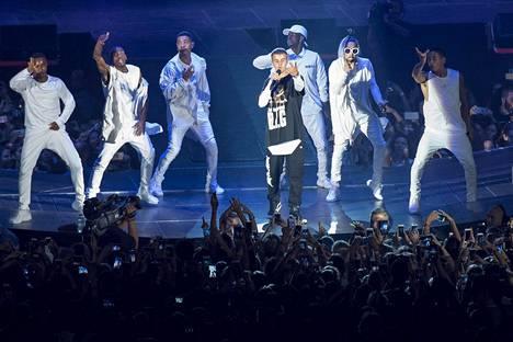 Bieberin Purpose-kiertueella tanssia nähdään enemmän kuin koskaan aiemmin.