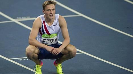 Karsten Warholm on Norjan kaikkien aikojen nopein 400 metrin aidoissa.