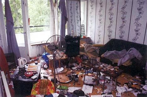 Tuhotun vuokra-asunnon remontointiin upposi noin 50000 euroa.