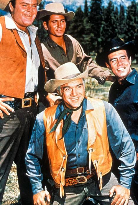 Cartwrightin isä ja pojat Bonanzassa.
