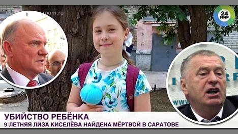 9-vuotiaan Jelizaveta Kiseljovan surma on herättänyt Venäjällä laajaa huomiota. Saratovissa kaupunkilaiset piirittivät poliisiauton ja halusivat rangaista Lizan epäiltyä murhaajaa omankädenoikeudella.
