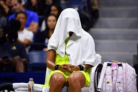 Naomi Osaka jäi US Openin jälkeen tauolle huipputenniksestä.