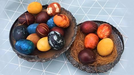 Näin värjäät itse huikean kauniita pääsiäismunia