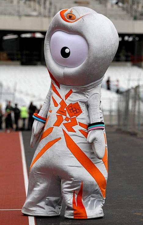 Wenlock oli toinen Lontoon olympialaisten 2012 maskoteista.